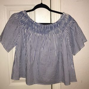 Rebellion Again off the shoulder top